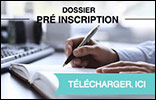 Télecharger le dossier de pré-inscription